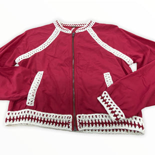 Primary Photo - BRAND: FREE PEOPLE STYLE: JACKET OUTDOOR COLOR: RED SIZE: XS SKU: 190-19060-46504