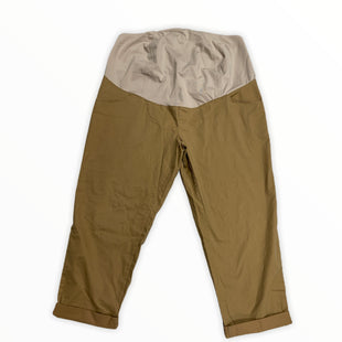 Primary Photo - BRAND: ISABEL MATERNITY STYLE: MATERNITY PANT COLOR: KHAKI SIZE: 16 OTHER INFO: NEW! SKU: 190-190140-22305