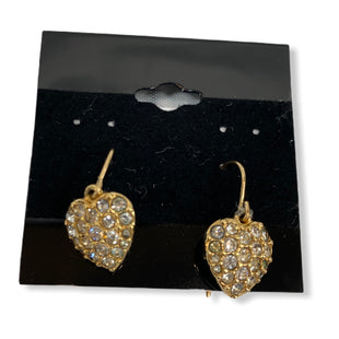 Primary Photo - BRAND: SWAROVSKI STYLE: EARRINGS COLOR: GOLD SKU: 190-190106-49093