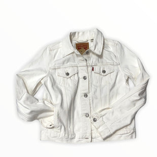 Primary Photo - BRAND: LEVIS STYLE: JACKET OUTDOOR COLOR: IVORY SIZE: M OTHER INFO: NEW! SKU: 190-19060-46758