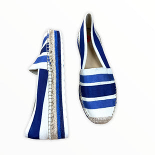 Primary Photo - BRAND: NINE WEST STYLE: SHOES FLATS COLOR: BLUE WHITE SIZE: 7 SKU: 190-190158-787