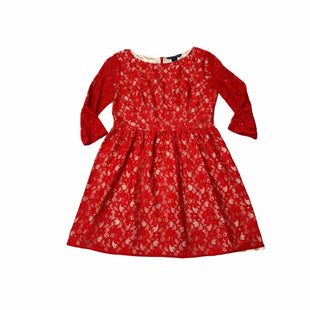 Primary Photo - BRAND: FRENCH CONNECTION STYLE: DRESS SHORT LONG SLEEVE COLOR: RED SIZE: M SKU: 190-190106-54890