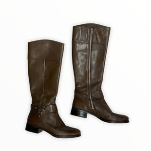 Primary Photo - BRAND: MICHAEL BY MICHAEL KORS STYLE: BOOTS KNEE COLOR: BROWN SIZE: 9 SKU: 190-19060-47484