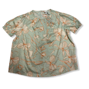 Primary Photo - BRAND: AVA & VIV STYLE: TOP SHORT SLEEVE COLOR: GREEN SIZE: 1X OTHER INFO: NEW! SKU: 190-19060-46044