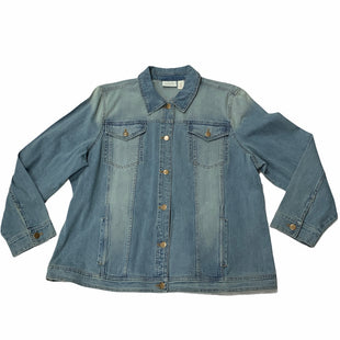 Primary Photo - BRAND: CHICOS STYLE: JACKET OUTDOOR COLOR: DENIM BLUE SIZE: 1X SKU: 190-190125-40002