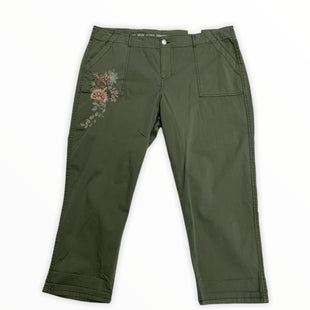 Primary Photo - BRAND: WESTPORT STYLE: PANTS COLOR: GREEN SIZE: 18 OTHER INFO: NEW! SKU: 190-190161-530