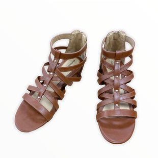 Primary Photo - BRAND: CROFT AND BARROW STYLE: SANDALS FLAT COLOR: BROWN SIZE: 9.5 OTHER INFO: NEW! SKU: 190-19060-47528