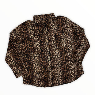 Primary Photo - BRAND: SHEIN STYLE: TOP LONG SLEEVE COLOR: ANIMAL PRINT SIZE: 3X SKU: 190-190106-54222