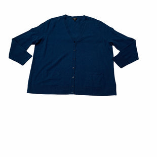 Primary Photo - BRAND: TALBOTS STYLE: SWEATER CASHMERE COLOR: BLUE SIZE: 3X SKU: 190-190140-24030