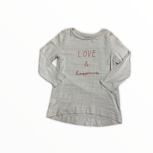 Primary Photo - BRAND: LOFT STYLE: TOP LONG SLEEVE COLOR: GREY WHITE SIZE: M SKU: 190-190125-35790