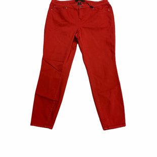 Primary Photo - BRAND: TORRID STYLE: JEANS COLOR: RED SIZE: 20 OTHER INFO: NEW! SKU: 190-190140-23926