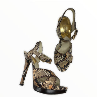 Primary Photo - BRAND: MICHAEL BY MICHAEL KORS STYLE: SHOES HIGH HEEL COLOR: SNAKESKIN PRINT SIZE: 9 SKU: 190-190106-45893AS IS