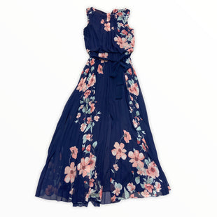 Primary Photo - BRAND: BISOU BISOU STYLE: DRESS LONG SLEEVELESS COLOR: NAVY SIZE: M SKU: 190-190106-56245