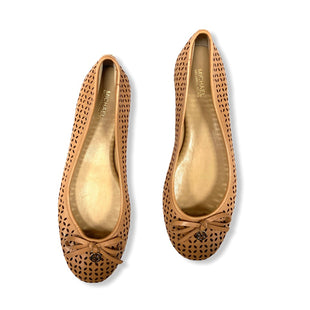 Primary Photo - BRAND: MICHAEL BY MICHAEL KORS STYLE: SHOES FLATS COLOR: TAN SIZE: 8 SKU: 190-190140-20642