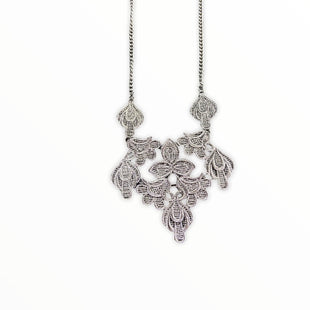 Primary Photo - BRAND:    CLOTHES MENTOR STYLE: NECKLACE COLOR: SILVER OTHER INFO: ETHEL & MYRTLE - SKU: 190-19060-45549