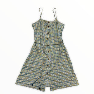 Primary Photo - BRAND: LOFT STYLE: DRESS SHORT SLEEVELESS COLOR: BLUE YELLOW SIZE: 1X OTHER INFO: NEW! SKU: 190-19060-47659