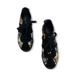 Primary Photo - BRAND: COACH STYLE: SHOES FLATS COLOR: BLACK SIZE: 7.5 SKU: 190-190106-52926