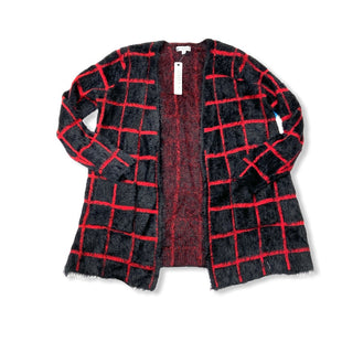 Primary Photo - BRAND: JOSEPH A STYLE: SWEATER CARDIGAN LIGHTWEIGHT COLOR: BLACK RED SIZE: S OTHER INFO: NEW! SKU: 190-190125-36476