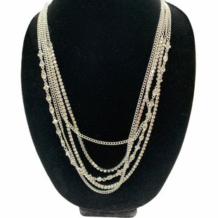 Primary Photo - BRAND: NINE WEST STYLE: NECKLACE COLOR: SILVER SKU: 190-19060-47522