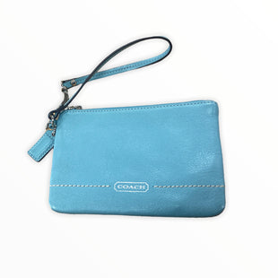 Primary Photo - BRAND: COACH STYLE: WRISTLET COLOR: BLUE SKU: 190-190106-54304