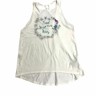 Primary Photo - BRAND: CALIA STYLE: ATHLETIC TANK TOP COLOR: CREAM SIZE: M SKU: 190-19060-47145