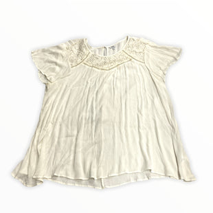 Primary Photo - BRAND: SONOMA STYLE: TOP SHORT SLEEVE COLOR: CREAM SIZE: 3X OTHER INFO: NEW! SKU: 190-190125-41101