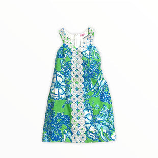 Primary Photo - BRAND: LILLY PULITZER STYLE: DRESS SHORT SLEEVELESS COLOR: BLUE GREEN SIZE: S SKU: 190-190106-54979