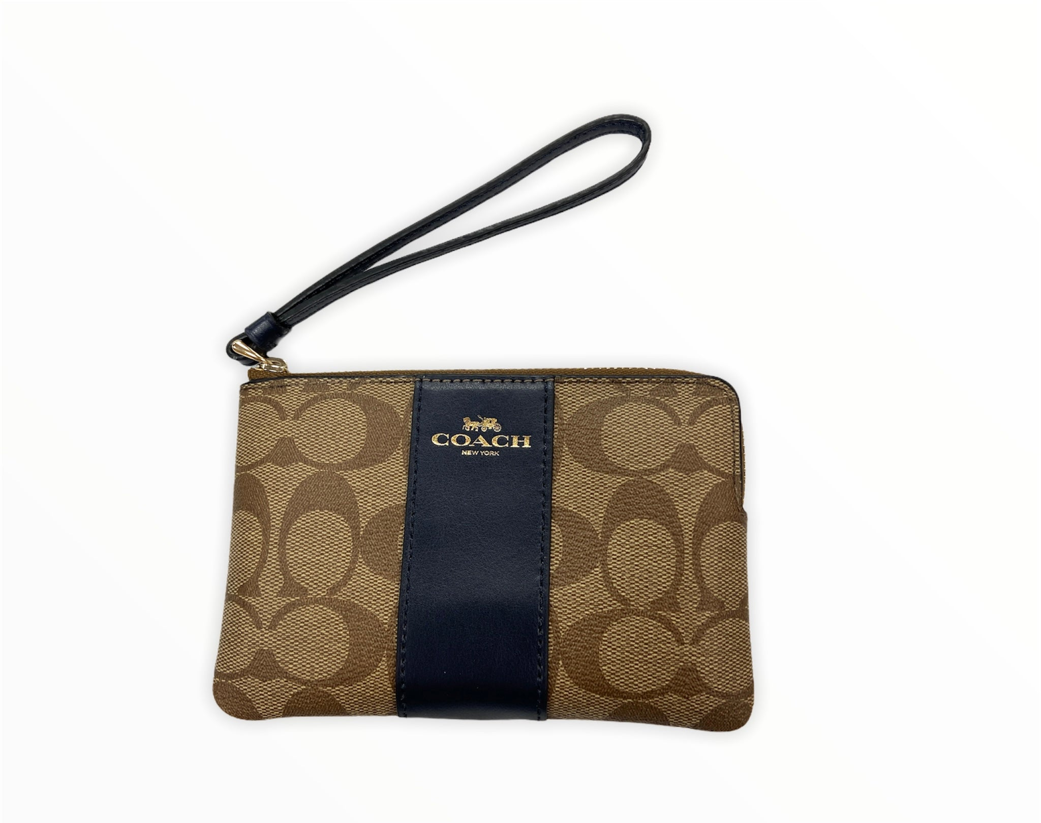 Primary Photo - BRAND: COACH <BR>STYLE: WRISTLET <BR>COLOR: BLUE <BR>SKU: 190-190140-22838