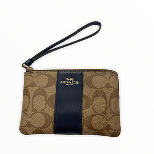 Primary Photo - BRAND: COACH STYLE: WRISTLET COLOR: BLUE SKU: 190-190140-22838