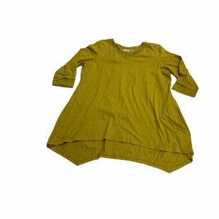 Primary Photo - BRAND: LOGO STYLE: TOP LONG SLEEVE COLOR: MUSTARD SIZE: 1X SKU: 190-190125-40689
