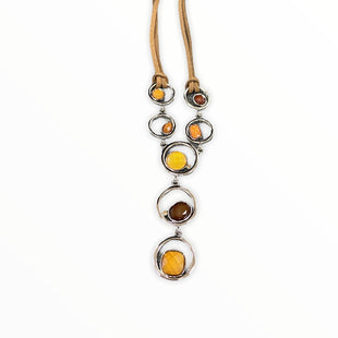 Primary Photo - BRAND: LIA SOPHIA JEWELRY STYLE: NECKLACE COLOR: BROWN SKU: 190-19060-45543
