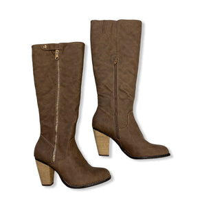Primary Photo - BRAND: CATO STYLE: BOOTS KNEE COLOR: BROWN SIZE: 10 SKU: 190-190125-35637