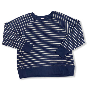 Primary Photo - BRAND: ISABEL MATERNITY STYLE: MATERNITY TOP LONG SLEEVE COLOR: BLUE WHITE SIZE: L SKU: 190-19060-44916