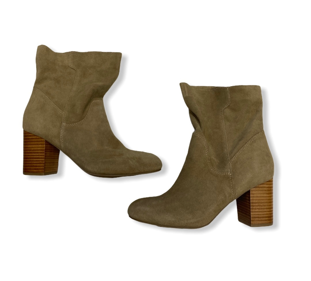 Primary Photo - BRAND: MIA <BR>STYLE: BOOTS ANKLE <BR>COLOR: TAN <BR>SIZE: 9.5 <BR>SKU: 190-190125-35636