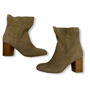 Primary Photo - BRAND: MIA STYLE: BOOTS ANKLE COLOR: TAN SIZE: 9.5 SKU: 190-190125-35636