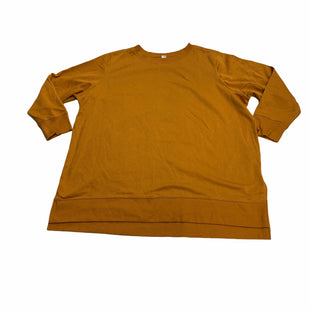 Primary Photo - BRAND: OLD NAVY STYLE: ATHLETIC TOP COLOR: MUSTARD SIZE: 3X SKU: 190-190125-39615