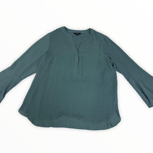 Primary Photo - BRAND: SIMPLY VERA STYLE: TOP LONG SLEEVE COLOR: TEAL SIZE: 2X SKU: 190-190106-55419