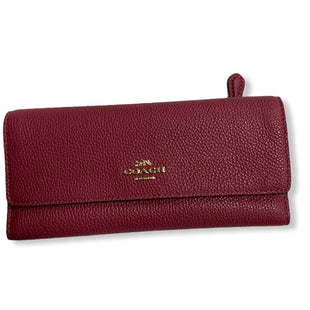 Primary Photo - BRAND: COACH STYLE: WALLET COLOR: PINK SIZE: MEDIUM SKU: 190-190106-52891