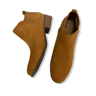 Primary Photo - BRAND: TOMS STYLE: BOOTS ANKLE COLOR: CARAMEL SIZE: 9.5 SKU: 190-19060-46766