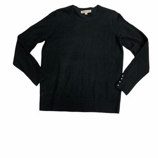 Primary Photo - BRAND: LOFT STYLE: SWEATER LIGHTWEIGHT COLOR: BLACK SIZE: L SKU: 190-19060-46710