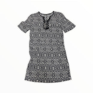 Primary Photo - BRAND:    TWELFTH STREET CYNTHIA VINCENT STYLE: DRESS SHORT SHORT SLEEVE COLOR: BLACK WHITE SIZE: PETITE   XS SKU: 190-190125-38177