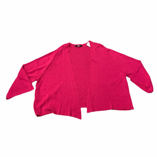 Primary Photo - BRAND:   EVANSSTYLE: SWEATER CARDIGAN HEAVYWEIGHT COLOR: HOT PINK SIZE: 3X OTHER INFO: EVANS  - NEW! SKU: 190-190140-24027
