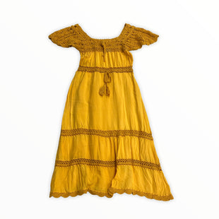 Primary Photo - BRAND:   CLEOBELLASTYLE: DRESS SHORT SHORT SLEEVE COLOR: YELLOW SIZE: S SKU: 190-190106-52393