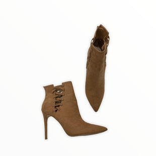 Primary Photo - BRAND: ALDO STYLE: BOOTS ANKLE COLOR: CAMEL SIZE: 11 SKU: 190-190106-53749