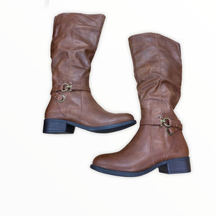 Primary Photo - BRAND: APT 9 STYLE: BOOTS KNEE COLOR: BROWN SIZE: 8.5 SKU: 190-19060-46902