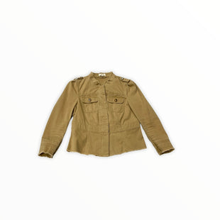 Primary Photo - BRAND: LOFT STYLE: JACKET OUTDOOR COLOR: TAN SIZE: S SKU: 190-190125-36318