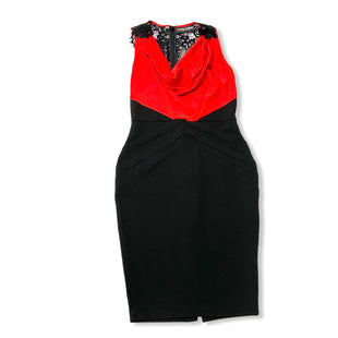 Primary Photo - BRAND: NEW YORK AND CO STYLE: DRESS SHORT SLEEVELESS COLOR: RED BLACK SIZE: M OTHER INFO: NEW! SKU: 190-190106-53192