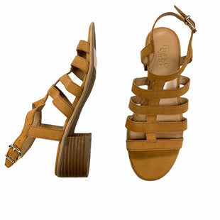 Primary Photo - BRAND: FRANCO SARTO STYLE: SANDALS LOW COLOR: TAN SIZE: 8.5 SKU: 190-190106-54034