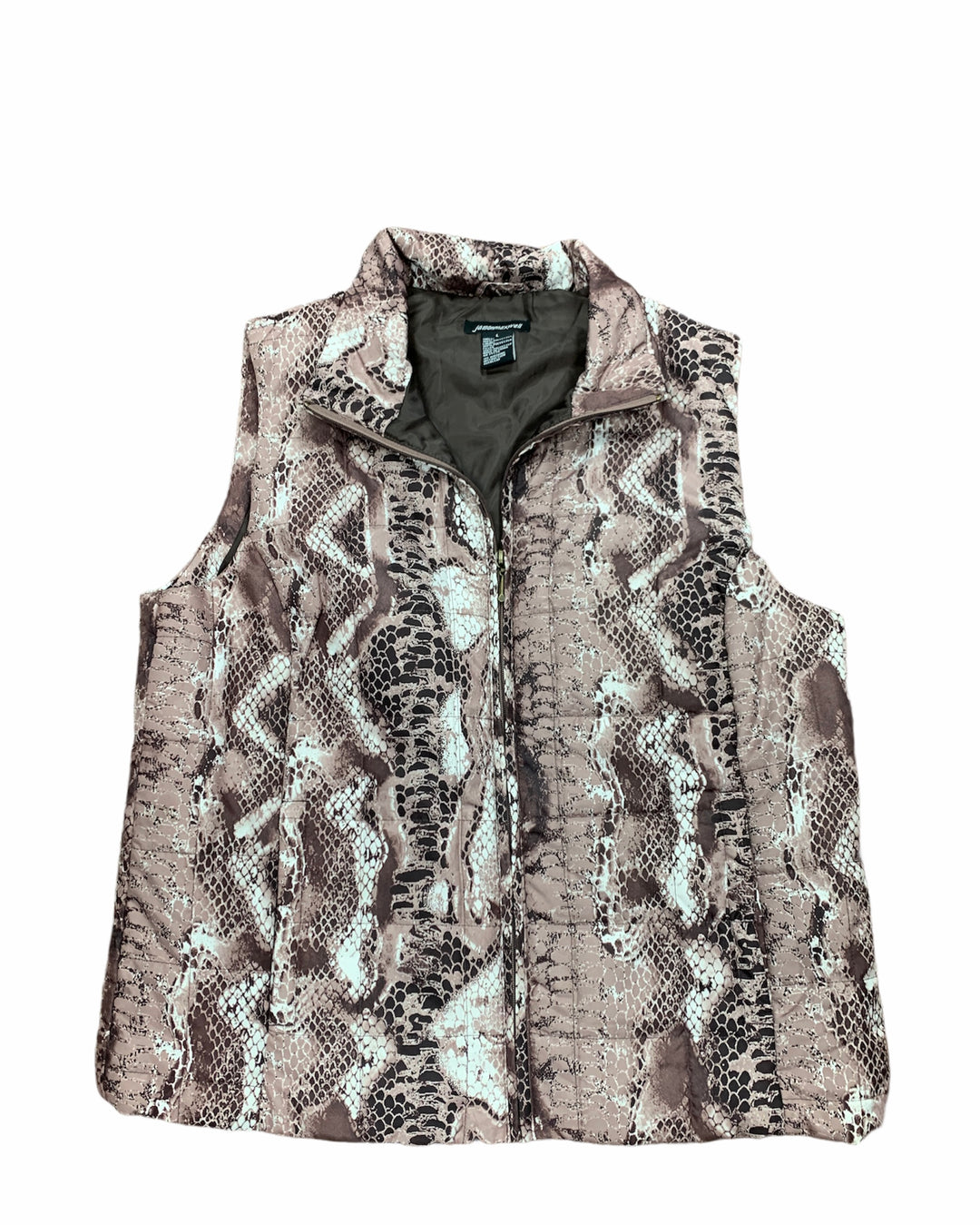 Primary Photo - BRAND: JASON MAXWELL <BR>STYLE: VEST <BR>COLOR: BROWN <BR>SIZE: L <BR>SKU: 190-190125-35679
