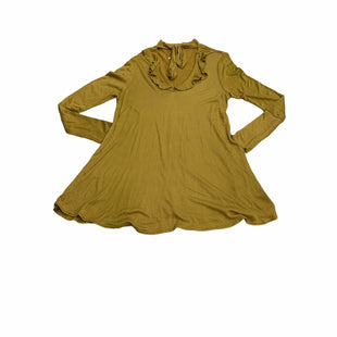 Primary Photo - BRAND: FREE PEOPLE STYLE: DRESS SHORT LONG SLEEVE COLOR: MUSTARD SIZE: S SKU: 190-190125-40918